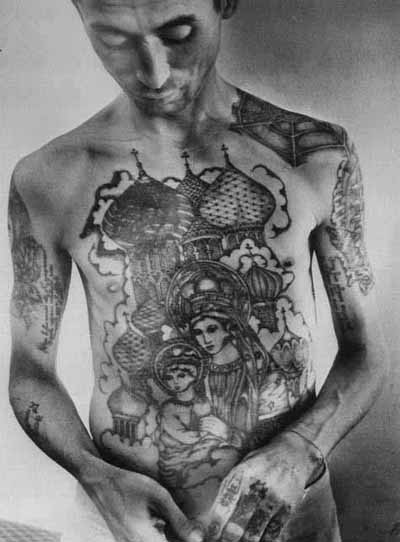 russian-mafia-tattoos-5. Every society has a beginning, even sub societies.